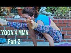 Yoga for MMA Shoulders Hips Grappling Mixed Martial Arts Jiu Jitsu