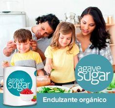 El Azúcar de Agave es un endulzante orgánico