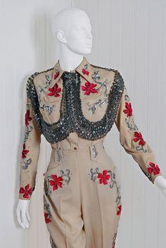 1940s Vaquero Fashions western sequin suit