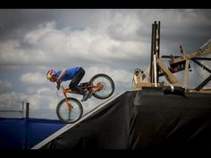Red Bull advertisement about extreme sports.