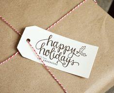 Happy Holidays Handw