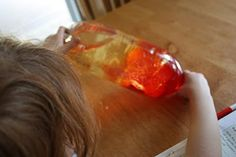 Science Project: Homemade Lava Lamp. This one will keep them transfixed for hours!