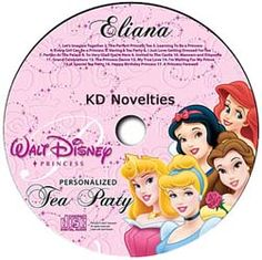 This wonderful personalized Disney Princess music CD has 17 tracks were the Disney® Princesses will sing and use your child's name over 60 times! Includes a personalized birthday song making it the perfect birthday gift for your little princess. Each princess will personally coach your child through getting dressed and using proper etiquette to prepare your child for her personal invitation to the castle to join all the Disney Princesses at their Princess Tea Party!