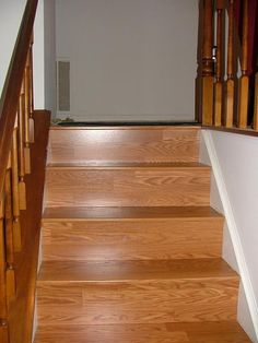 Consider Laminate For Your Staircase It Looks Great Amp Is