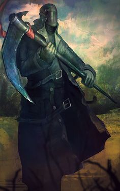 Cleaver - Skulduggery Pleasant by Corey-H. Again reminding me more of Rippers