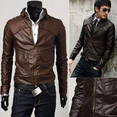 faux leather jacket $19.68 | Fashion cloth | Pinterest | Shopping ...