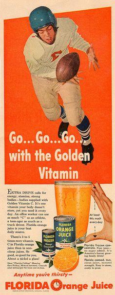 vintage ad girl scouts for florida orange juice nothin