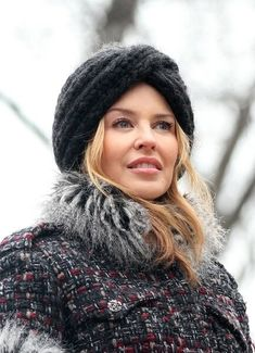 Kylie Minogues hat hairstyle hair-and-beauty Kylie Minogue, Dannii Minogue, Kylie Jenner, Melbourne, Holly Willoughby, Hats For Sale, Victoria, Hat Hairstyles, Love Hat