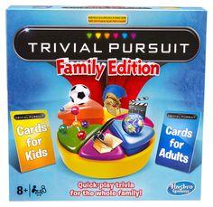 Настольная игра «тривиал персьюит. семейное издание» hasbro gaming