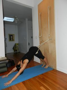 Fantasy Home Gym: Marisa Sako's yoga wall | I will have one too