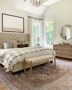 Looking for for pictures for farmhouse bedroom? Browse around this site for very best farmhouse bedroom images. This unique farmhouse bedroom ideas looks wonderful. Relaxing Master Bedroom, Master Bedroom Design, Home Bedroom, Bedroom Designs, Colors For Master Bedroom, Master Bedroom Furniture Ideas, Costal Bedroom, Apartment Master Bedroom, Bedroom Colours