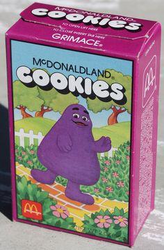 McDonald's McDonaldland Cookies with Grimace, 1987 90s Childhood, My Childhood Memories, Sweet Memories, Ed Vedder, Old Commercials, 90s Nostalgia, 80s Kids, Oldies But Goodies, I Remember When