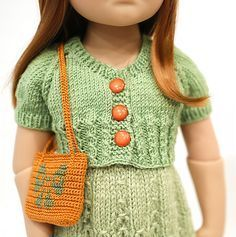 Knitting patterns for 18 inch doll. Ravelry: cataddict's an Easter greeting FREEBIE cardie and shoes patterns