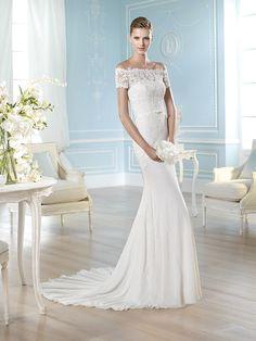 Vestido de novia, modelo Hadasse de St. Patrick 2014  www.sanpatrickgranada.es