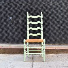 40s High Back Kitchen Chair By Kasbah Vintage Funky Chairs