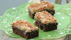 Chokoladekage med kokos-karamel