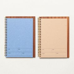 Your todo lists could not be any fancier Shop our A5 Spiral Notebook on woodd.it #woodd #notebooks #stationary