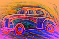 Dream Of A Car Framed Prints, Canvas Prints, Shape And Form, Insecure, Famous Artists, Impressionist, Art Pieces, Tapestry, Paintings