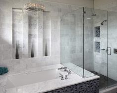 Gray+Bathroom+shower+tub Design, Pictures, Remodel, Decor and Ideas