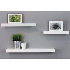 nexxt Design 3 Piece Maine Wall Shelf Set & Reviews | Wayfair