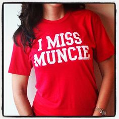 SHUT UP!!!!! I want this! I MISS MUNCIE Ball State Cardinals by IMISSMYCOLLEGE on Etsy, $25.00 - I miss being in college at Ball State and Muncie!