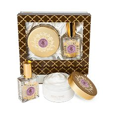 Shelley Kyle Ballerine Royal Creme and Large Perfume Set