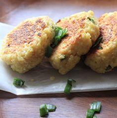 On dine chez Nanou | Croquettes de quinoa au chèvre frais | Ces délicieuses croquettes sortent tout droit de mon nouveau livre de cuisine d' Heidi Swanson...