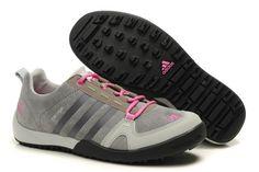 Adidas Daroga Two Læder Grå Pink Dame