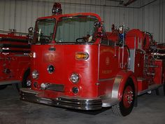 1965 Crown Firecoach, formerly Los Angeles County Fire Department Engine 60 at…