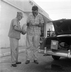 James Dean the Giant shopping at the West Texas Ice Co