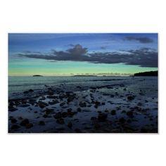 Stones In Water - Sweden Print #landscape #nature #photography #sweden $16.80