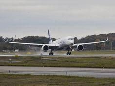 Vidéo : atterrissage de l'Airbus A350-1000 F-WLXV à Toulouse-Blagnac