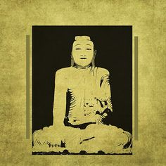 Gautama Buddha - by Grimalkin Studio / Kandy Hurley  #zen #Buddha #Meditation @grimalkinart