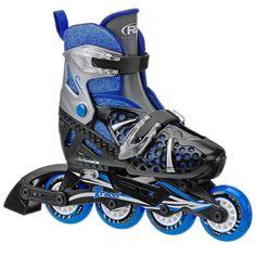 Roller Derby Inline Skates Roller Adjustable Blades Men Kids Rollerblade Skate W #RollerDerby