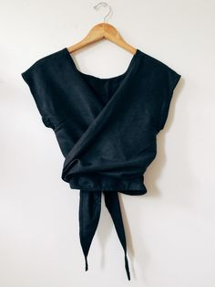 Wrap top | Woven Raw Silk More