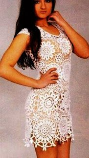 Tina's handicraft : white summer dress