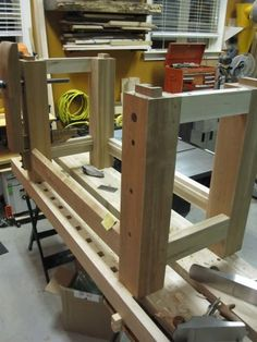 Split Roubo Workbench #24: Flattening and finishing - by lysdexic @ LumberJocks.com ~ woodworking community