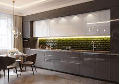 French style apartment on Behance #cocinasMinimalistas