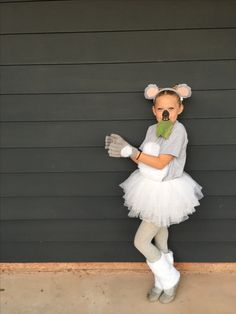 Koala makeup costume kids Halloween
