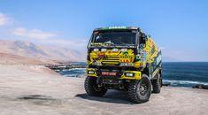 Liaz na Dakaru: Galerie českých speciálů Campervan Interior, Cars And Motorcycles, Rally, Monster Trucks, Racing, Vehicles, Life, Cars, 4x4 Trucks