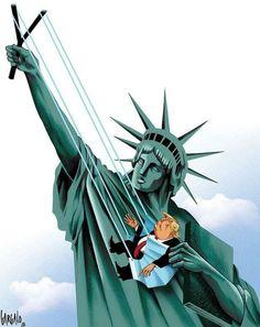Donald Trump Wahl, Donald Trump Jr, Political Art, Political Cartoons, Trump Cartoons, Political Memes, Trump Karikatur, Joe Biden, Socialism