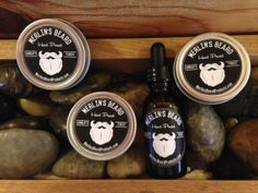 Merlin's Beard 3 Wax and 1 Oil Beard Care by MerlinsBeardProducts, $24.00