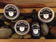 Merlin's Beard 3 Wax and 1 Oil Beard Care by MerlinsBeardProducts, $24.00