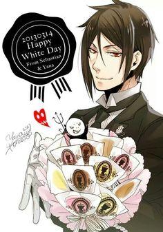 Happy (late) White Day! #anime #manga