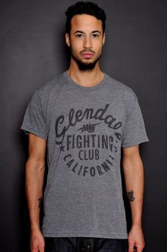 Glendale Fighting Club Tee  https://www.fanprint.com/stores/teeshirtstudio-fut?ref=5750