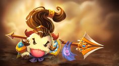 Download Xin Zhao League of Legends Poro Champion 1920x1080