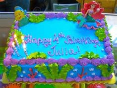 Yahoo! Image Search Results for under the sea birthday cake