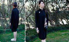 Chinese Cheongsam Dress Qipao Featuring Jade by AnnularRings