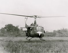 1968 - 116th Assault Helicopter Co 2nd Platoon known as the WASPS supported the 25th Infantry Division in Vietnam... I was on numerous combat assaults with these guys even in the heat of a hot LZ, these guys appeared calm, cool, and collected. This photo was taken in 1968 near the Ho Bo Woods 25 kms northwest of Saigon. As a rear echelon support soldier the mere sight and sound of the Huey got my adrenalin pumping as it still does even today. As I slept last night ,George F Pullen.