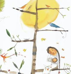 "Piet Grobler in ""All the Wild Wonders"" Children's Book Illustration, Watercolor Illustration, Illustration Children, National Poetry Month, Quirky Art, South African Artists, Madonna And Child, Freelance Illustrator, Great Pictures"